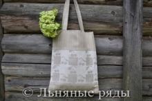 сумка лён