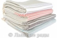 Льняные кухонные полотенца