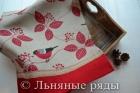 Полотенце Снегири