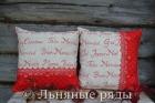 подушка новогодняя