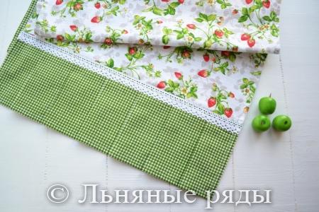 дорожка текстильная земляника