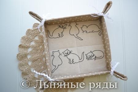 хлебница кошка