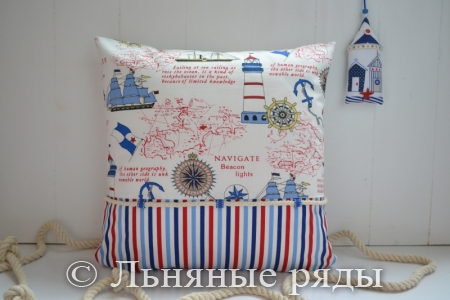 подушка морская