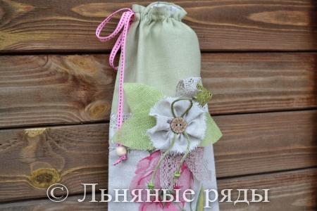 мешочек для хранения лука