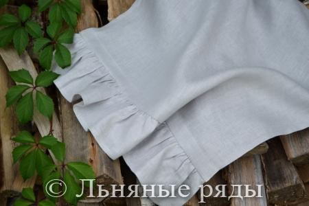 полотенце голубое