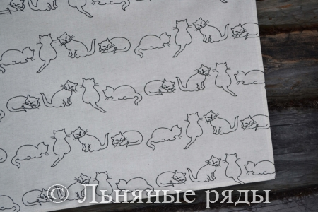 полотенце кошки
