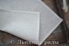 салфетка льняная белая