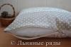 подушка в горошек