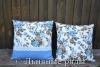 подушки с розочками
