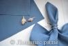салфетка сине-серая